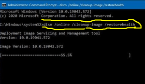 dism command line
