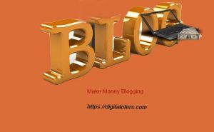 Make money blogging in 2021